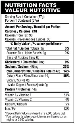chowder-nutrition